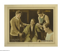 "The Wonder Man (Robertson-Cole, 1920). Lobby Card (11"" X 14""). Henri D'Alour (Georges Carpentier) is a boxer w..."