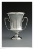Silver Holloware, American:Vases, An American Silver Trophy. Mark of Frank W. Smith Silver Co., Inc.,Gardner, MA, Early Twentieth Century. The footed troph...