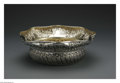 Silver Holloware, American:Bowls, An American Silver Bowl. Mark of Gorham, Providence, RI, 1883. Theoctagonal rim repousse bowl, gilt interior, marked unde...