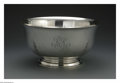 Silver Holloware, American:Bowls, An American Silver Bowl. Mark of Gorham, Providence, RI, Twentieth Century. The bowl with four vertical repousse acanthus ...