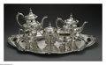 Silver Holloware, American:Tea Sets, An American Silver Tea And Coffee Service. Mark of Gorham,Providence, RI, Early Twentieth Century. The 'Chantilly' patter...(Total: 6 Items)