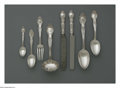 Silver & Vertu:Flatware, An American Silver Flatware Set. Mark of Tiffany & Co., New York, NY, 1892. The 'Richelieu' pattern set includes five dinn... (Total: 59 Items Item)