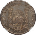 Mexico, Mexico: Charles III 8 Reales 1765 Mo-MF AU Details (SurfaceHairlines) NGC,...