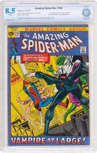 The Amazing Spider-Man #102 (Marvel, 1971) CBCS VF+ 8.5 White pages