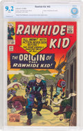 Silver Age (1956-1969):Western, Rawhide Kid #45 (Marvel, 1965) CBCS NM- 9.2 White pages....