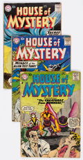 Silver Age (1956-1969):Horror, House of Mystery Group of 13 (DC, 1958-71) Condition: AverageGD.... (Total: 13 Comic Books)