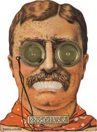 "Theodore Roosevelt: A Fantastic ""Googly Eyes"" Dexterity Game for the 1912 Bull Moose Candidate"