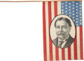 Political:Textile Display (1896-present), William Howard Taft: Great Portrait Flag....