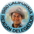 Political:Pinback Buttons (1896-present), Ronald Reagan: Great Convention Pin....