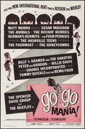 """Movie Posters:Rock and Roll, Go Go Mania (American International, 1965). One Sheet (27"""" X 41"""").Rock and Roll.. ..."""