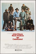 "Movie Posters:Western, The Undefeated (20th Century Fox, 1969). One Sheet (27"" X 41"") Style A. Western.. ..."