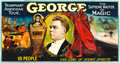 "Movie Posters, George --The Supreme Master of Magic (Otis Litho, Mid-1920s). 24Sheet (104"" X 232"").. ..."