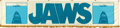 "Movie Posters:Horror, Jaws (Universal, 1975). Cloth Silk-Screen Banner (24"" X 102"").. ..."