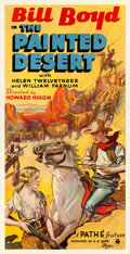 """Movie Posters:Western, The Painted Desert (RKO-Pathé Distributing, 1931). Three Sheet (41"""" X 80"""").. ..."""