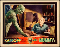 "The Mummy (Universal, 1932). Lobby Card (11"" X 14"")"
