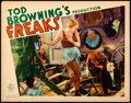 "Movie Posters:Horror, Freaks (MGM, 1932). Lobby Card (11"" X 14"").. ..."