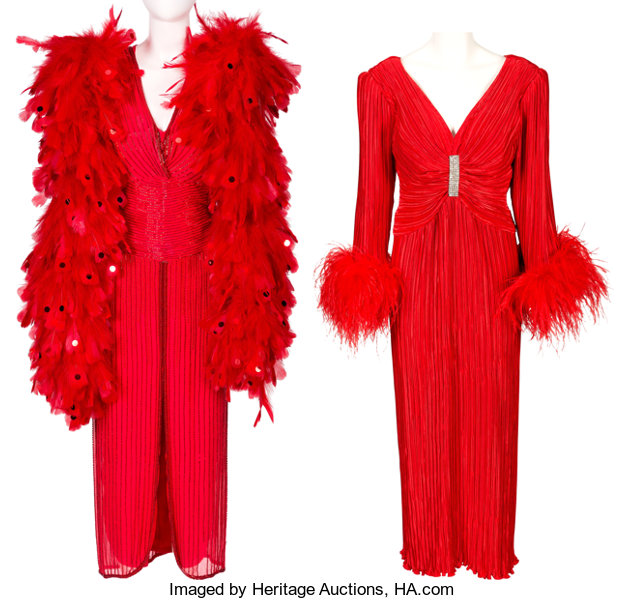 A Connie Francis Pair of Evening Gowns Worn Onstage at | Lot #89164 ...