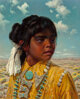 Ralph Brownell McGrew (American, 1916-1994) Sitasie Oil on board 19-1/2 x 15-1/2 inches (49.5 x 39.4 cm) Signed lowe