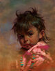 Ralph Brownell McGrew (American, 1916-1994) Jay Jay Oil on board 17-1/2 x 13-1/2 inches (44.5 x 34.3 cm) Signed lowe