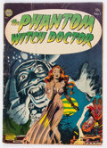 Golden Age (1938-1955):Horror, The Phantom Witch Doctor #1 (Avon, 1952) Condition: GD/VG....