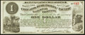 Obsoletes By State:Iowa, Newton, IA- Chicago, Burlington and Pacific Railroad Company $1Apr. 1, 1882 . ...