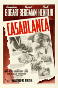"Movie Posters:Academy Award Winners, Casablanca (Warner Brothers, 1942). One Sheet (27"" X 41"").. ..."