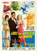 "Movie Posters:James Bond, From Russia with Love (United Artists, 1964). Italian 2 - Fogli(39"" X 55"") Averardo Ciriello Artwork.. ..."