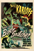 "Movie Posters:Horror, The Body Snatcher (RKO, 1945). One Sheet (27"" X 41"") William RoseArtwork.. ..."