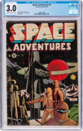 Golden Age (1938-1955):Science Fiction, Space Adventures #5 (Charlton, 1953) CGC GD/VG 3.0 Cream tooff-white pages....