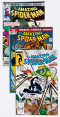 Modern Age (1980-Present):Superhero, The Amazing Spider-Man Group of 17 (Marvel, 1972-91) Condition:Average FN.... (Total: 17 Comic Books)