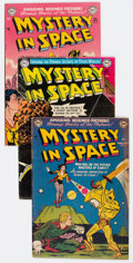 Golden Age (1938-1955):Science Fiction, Mystery in Space Group of 33 (DC, 1952-59) Condition: AverageVG.... (Total: 33 Comic Books)