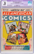 Golden Age (1938-1955):Miscellaneous, All-American Comics #5 (DC, 1939) CGC Apparent PR 0.5 Slight (C-1) Off-white pages....