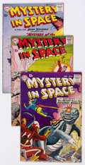 Silver Age (1956-1969):Science Fiction, Mystery in Space Group of 16 (DC, 1959-64) Condition: AverageVG.... (Total: 16 Comic Books)