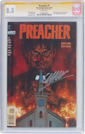Modern Age (1980-Present):Horror, Preacher #1 Signature Series (DC, 1995) CGC VF+ 8.5 White pages....