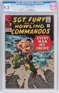 Silver Age (1956-1969):War, Sgt. Fury and His Howling Commandos #25 (Marvel, 1965) CGC NM- 9.2 Off-white to white pages....
