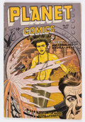 Golden Age (1938-1955):Science Fiction, Planet Comics #49 (Fiction House, 1947) Condition: GD/VG....