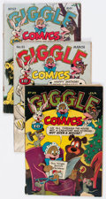 Golden Age (1938-1955):Funny Animal, Giggle Comics Group of 6 (ACG, 1948) Condition: Average VG-....(Total: 6 Comic Books)