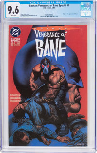 Batman: Vengeance of Bane Special #1 (DC, 1993) CGC NM+ 9.6 White pages