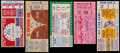 Baseball Collectibles:Tickets, 1960-64 Baseball All-Star Game Ticket Stub Collection (5). ...