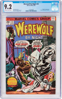 Werewolf by Night #32 (Marvel, 1975) CGC NM- 9.2 Off-white to white pages