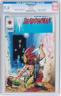 Modern Age (1980-Present):Superhero, Shadowman #1 (Valiant, 1992) CGC NM/MT 9.8 White pages....