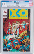 Modern Age (1980-Present):Superhero, X-O Manowar #4 (Valiant, 1992) CGC NM/MT 9.8 White pages....