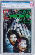 Modern Age (1980-Present):Science Fiction, The X-Files #1 (Topps Comics, 1995) CGC NM/MT 9.8 White pages....