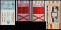 Baseball Collectibles:Tickets, 1951-59 Baseball All-Star Game Ticket Stub Quartet (4). ...