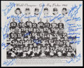 Football Collectibles:Photos, 1962 Green Bay Packers Team Signed Photograph....
