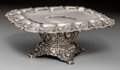 Silver Holloware, American:Tazze, A Tiffany & Co. Chrysanthemum Pattern Silver Tazza, NewYork, designed 1880, manufactured circa 1880-1891. Marks...