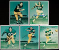 Football Collectibles:Photos, Green Bay Packers Greats Signed Photographs Lot of 10....