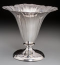 Silver & Vertu:Hollowware, A Clemens Friedell Weighted Silver Poppy Blossom-Shaped Vase, Pasadena, California, second quarter 20th century. Marks: ST...