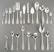 A One Hundred and Fifty-Piece S. Kirk & Son & Stieff Repoussé Pattern Silver Flatware Service, Ba...