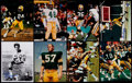 Football Collectibles:Photos, 1970's Green Bay Packers Greats Signed Photographs Lot of 15. ...